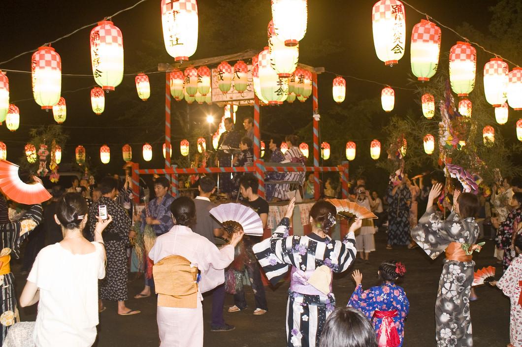 十津川の大踊り