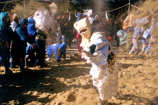 歴史の町、安堵町を歩き廣瀬神社(砂かけ祭り)へ